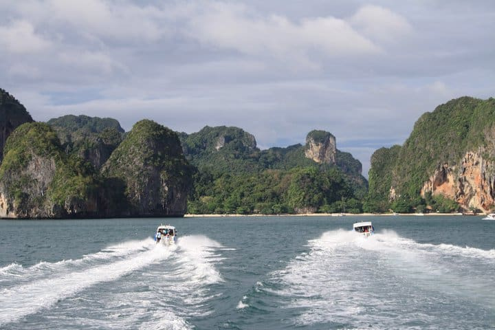 Naar de Thaise eilanden