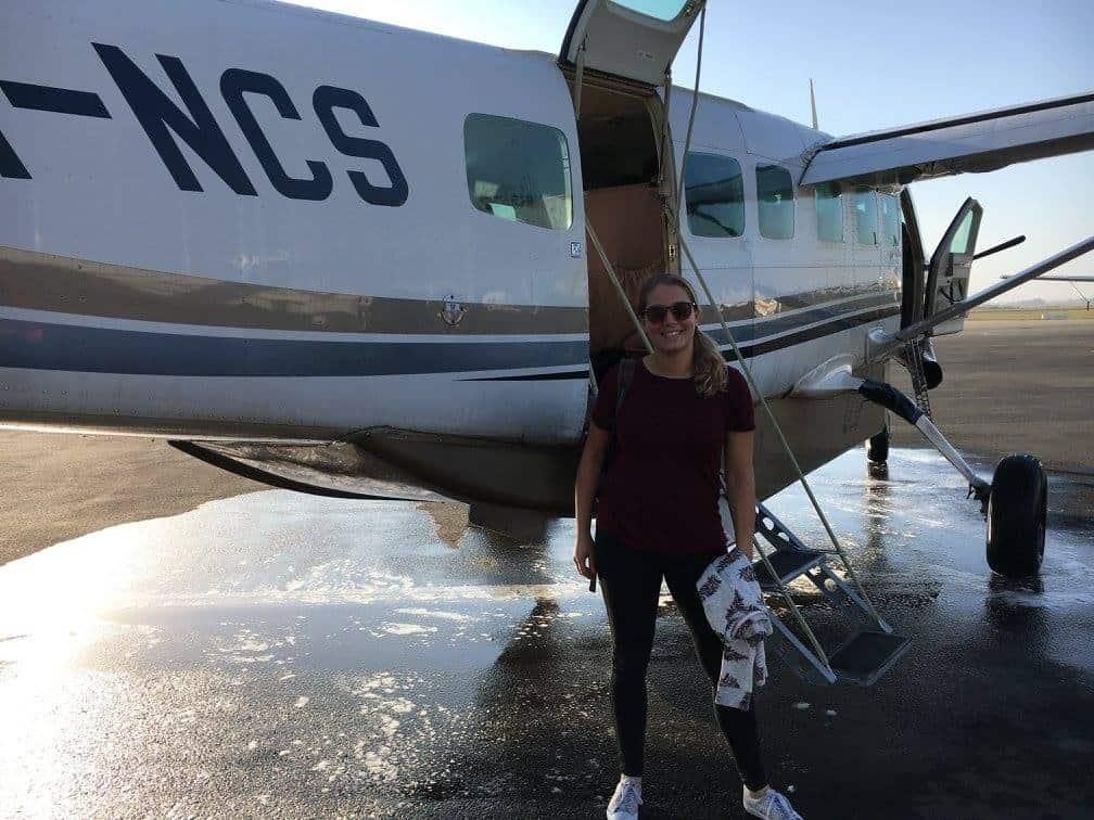 Vliegen naar Zanzibar, Tanzania