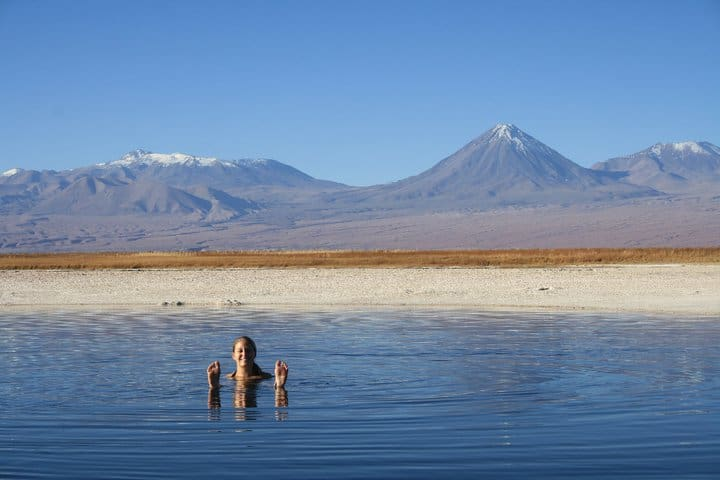 Atacama desert in Chili