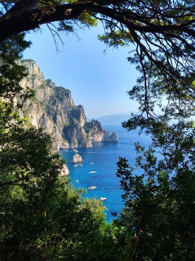 Een dagtrip naar Capri