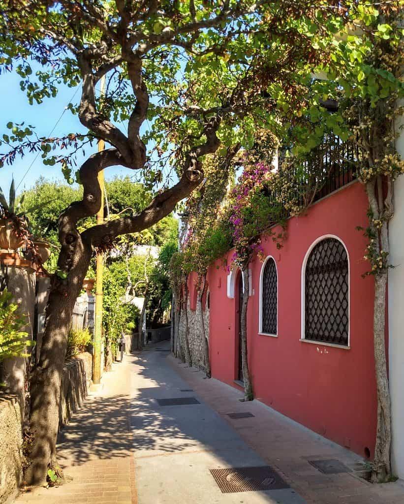Straatjes van Capri