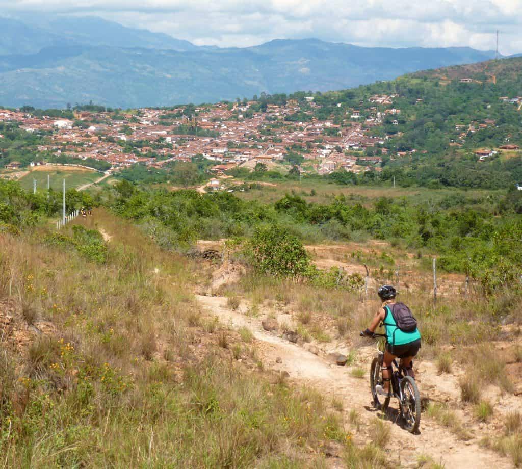 Mountainbiken San Gil to Barichara