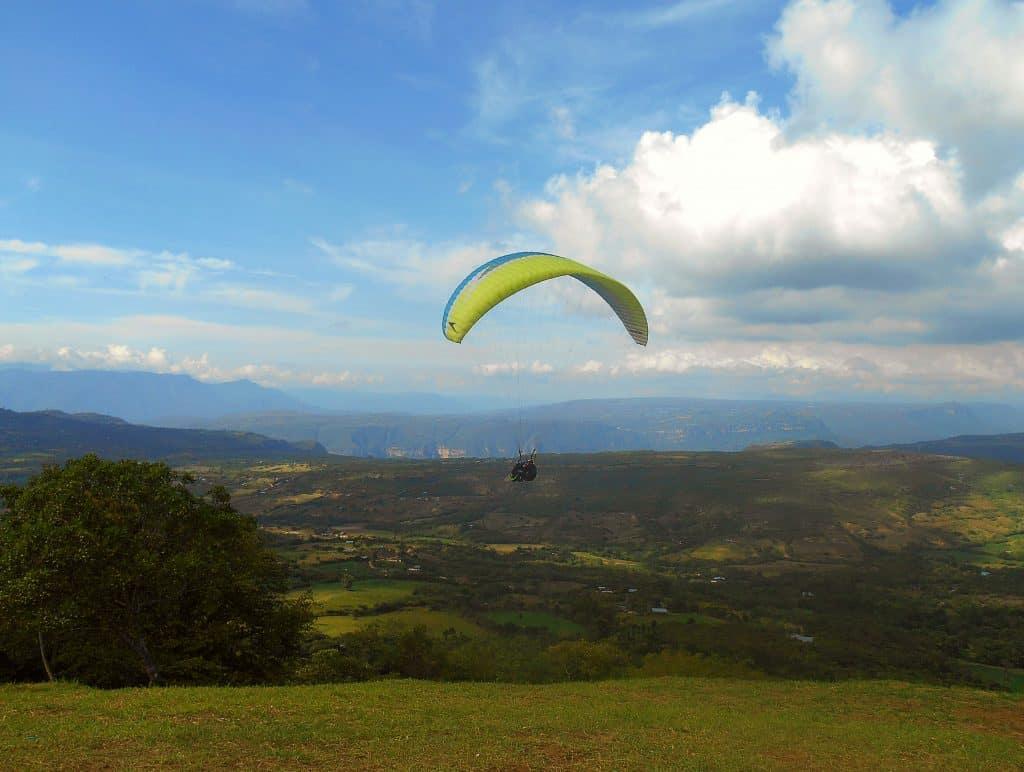 Paragliding in San Gil