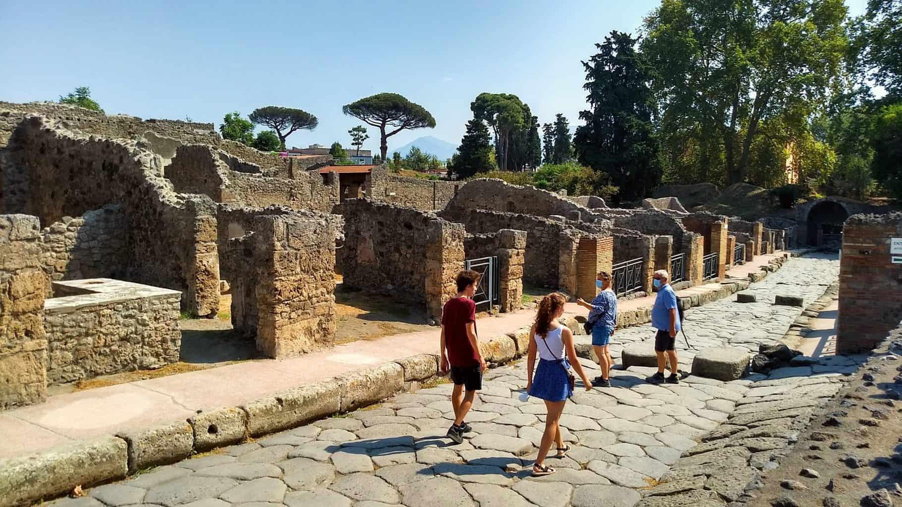 Dagtrip naar Pompeii