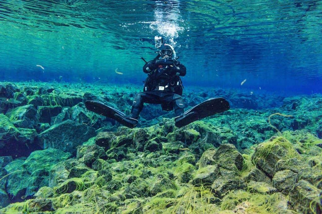 Golden Circle IJsland Silfra duiken